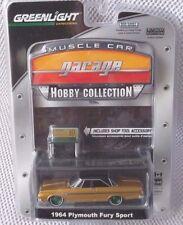 1964 PLYMOUTH FURY SPORT  Greenlight Hobby MC Garage  GREEN MACHINE Chase #35/80