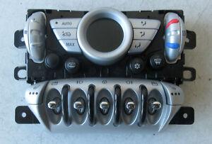 Genuine MINI Silver Digital Climate Control & Heated Seat Switches - R56 R55 #5