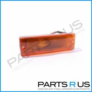 LH Amber Front Bumper Bar Indicator suits Holden TF Rodeo 88-97