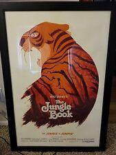 Olly Moss Jungle Book Mondo print signed