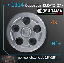 4 Original MURAMA 1314 Nabenkappen für Radkappen von 15 16 Zoll FIAT DUCATO '07