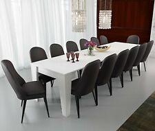 Tavolo da pranzo consolle allungabile 3 metri 14 posti bianco salvaspazio cucina