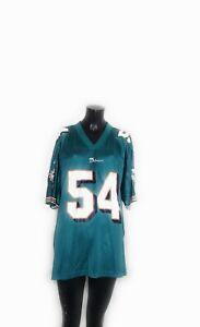Zach Thomas #54 Miami Dolphins NFL Vintage 90s Adidas Jersey Adult Size XL