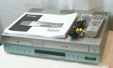 New listing Go Video Dvr4300 Dvd Player Vhs HiFi Video Cassette Recorder Vcr Player Combo