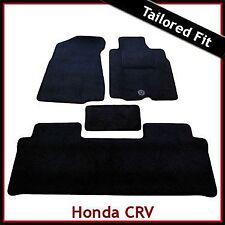 Honda CR-V CRV Manual Caja De Cambios Mk2 2002-2006 a Medida Alfombra Alfombrillas De Coche Negro