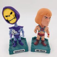 FUNKO Wacky Wobbler Bobble head Master of the Universe HE-MAN and SKELETOR lot 2