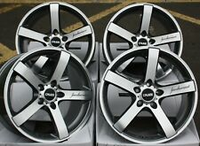 "18"" Gmf Blade alloy wheels 5x108 Ford Kuga Mondeo S Max Transit Connect + tyres"