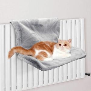 Pet Cat Hammock Luxury Self Warming Bed Hanging Winter Fleece Basket Carrier