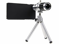 """12x Zoom Optical Telescope Lens Tripod with Cover Case For 5.5"""" iPhone 6S Plus"""