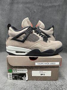 Nike Air Jordan 4 Retro Taupe Haze Brown 2021 DB0732-200 Men's Size 8.5