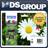 EPSON MULTIPACK 18XL ORIGINALE MARGHERITA CARTUCCE INK-JET CMYK C13T181640
