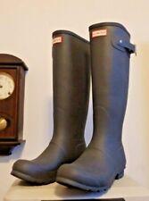 Tall Gray Hunter rain rubber boots wellies  10  New