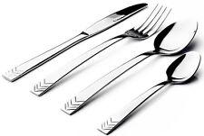 Sabichi Arrow 16 Piece Stainless Steel Arrow Design Cutlery Set in Gift Box