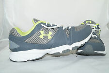 Under Armour Micro Strive EX Gr 42 Running Schwarz Neon Gr n