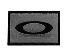 OAKLEY SI Standard Issue Tactical Ellipse Logo Dark Gray Morale Patch