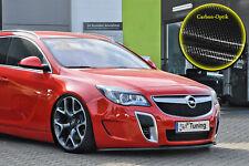 Alerón espada Front alerón labio Opel Insignia OPC con Abe carbon óptica