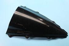667 02-03 YAMAHA YZF R1 BLACK WINDSHIELD WINDSCREEN