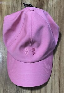 NWT Under Armour Heathered Play Up Womens Running Cap - Pink