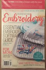Creative Machine Embroidery Software Guide Gifts May/June 2015 FREE SHIPPING!
