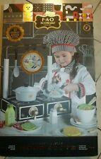 Fao Schwarz 23-Pc Gourmet Kitchen Tabletop Wood Stove