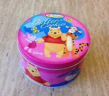St. Andrews Winnie The Pooh Butter Cookies Metal Tin Disney Pink Eeyore Tigger