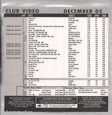 Promo only video MADONNA Simply red BLACK EYE PEAS new order MARTHA WASH jomanda