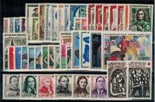 """timbres France n° 1281/1324 neufs** année 1961 complète """"MNH"""""""