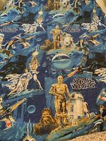 Original Star Wars Twin Sheet Set And 2 Pillow Cases Vintage 1970s