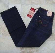 """Duck & Cover Womens Sharp Jeans 30"""" x 32"""" BNWT Vintage Ink Straight Low 10-12 m"""