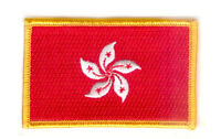 HONG KONG HONG KONGER FLAG PATCHES COUNTRY PATCH BADGE IRON ON NEW EMBROIDERED