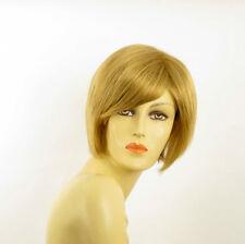 Perruque femme courte blond doré LANA 24B