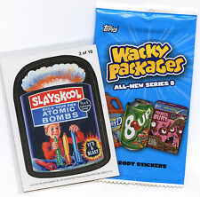 WACKY PACKAGES~2011 ANS 8 ~ NEW SERIES 8  MAGNET #2 OF 10 ~ SLAYSCHOOL