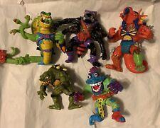 Vintage 90s TMNT Teenage Mutant Ninja Turtles Figures Toys Lot Of 5 See Descrpt
