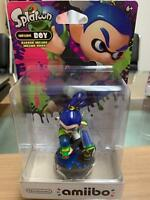 Splatoon Series Inkling Boy Amiibo - Brand New & Sealed - US Version