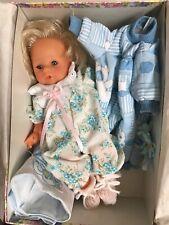"Zanini and Zambelli 12"" Vinyl & Cloth Doll Original Outfit Rare NIB Made Italy"