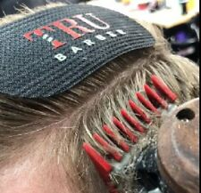 TruBarber Tru Barber Hair Grippers - Great For Fading & No Clips - Black / Red