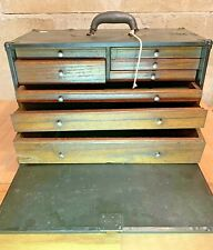 Vintage Storage Box ~ With Drawers and Key