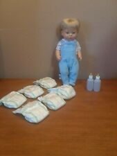"""1998 Cititoy Potty Scotty for Toddlers 16"""" Doll. Potty Training"""