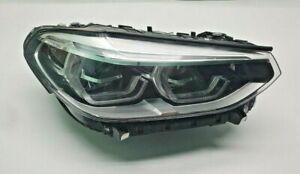 BMW X3 X4 Headlight Head Light Passenger's Right Adaptive LED 2018 2019 2020 21