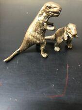 Vintage Brass Dinosaur Figurines