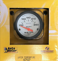 Auto Meter 5737 Phantom  Electric Water Temperature Temp Gauge 100-250 2 1/16""
