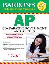 Barron's AP Comparative Government and Politics by Jeff Davis (2016, Paperback)