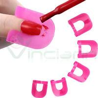 Set 26 pezzi strumenti copertura sbavatura smalto dita unghia unghie nail art