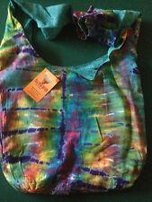 Cotton Tie die shoulder bag.
