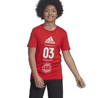 Adidas Kinder Performance T-Shirt Sport Id Training Mode Lifestyle DV1705