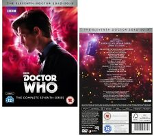DR WHO 2011-2013 Series 7 Doctor Matt Smith COMPLETE Season  NEW R2/4 DVD not US