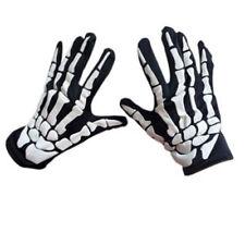 Cycling Gloves Halloween Horror Skull Claw Bone Skeleton Goth Racing Full I