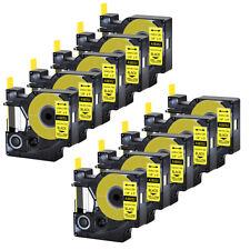 10x For Dymo Rhino 42005200 Heat Shrink Tube 18052 Industry Label Tape 14x5