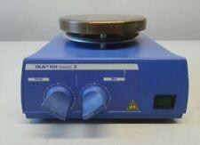 IKA RH basic 2 Magnetrührer mit  Heizplatte (LS-204)  + 9 Stirring Bars