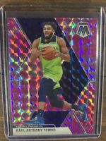 Karl Anthony Towns 2019-20 Panini Mosaic Prizm #83 Basketball Card Timberwolves